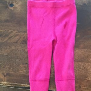 Bright pink Hanna Anderson leggings size 70